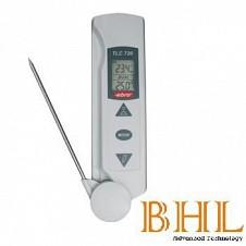 Máy đo nhiệt độ bằng hồng ngoại và đầu đo kim loại TLC 720