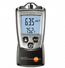 Máy đo nhiệt độ và độ ẩm Testo 610