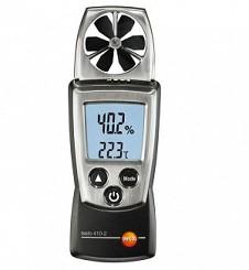 Thiết bị đo tốc độ gió, nhiêt độ và độ ẩm Testo 410-2