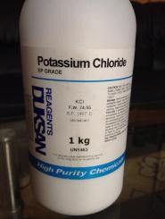 Hóa chất Kali Clorua (KCL)