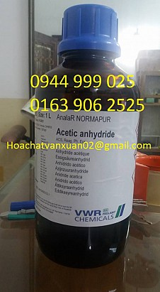 Acetic anhydride , (CH3COO)2O , Prolabo, VWR , Pháp
