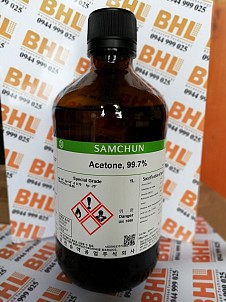 Acetone Samchun, acetone 99.7% samchun, acetone Hàn Quốc