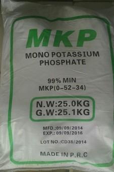MKP, Mono Potassium Phosphate, KH2PO4