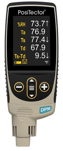 Máy đo nhiệt độ và điểm sương PosiTector DPM IR3