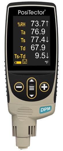Máy đo môi trường điểm sương bề mặt đầu dò liền